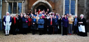 Group Photo - Rockingham Castle Visit