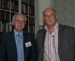 Chris O'Brien and Professor Kevin Schurer