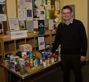 Nigel Adams with donations from Members